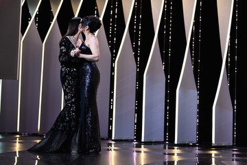 Juliette Binoche Closing Ceremony - The 70th Annual Cannes Film Festival