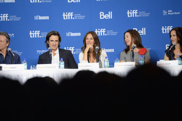 Juliette Lewis Chris Cooper 'August: Osage County' Press Conference in Toronto