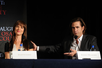Juliette Lewis Dermot Mulroney 'August: Osage County' Press Conference in NYC