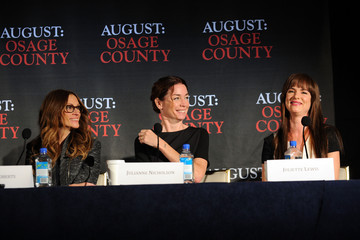 Juliette Lewis Julia Roberts 'August: Osage County' Press Conference in NYC