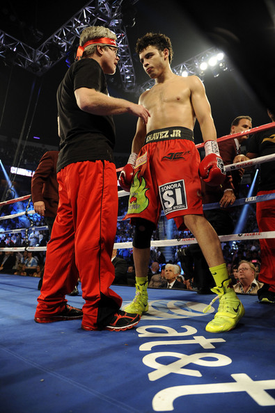 Julio Cesar Chavez Jr. in Julio Cesar Chavez Jr. v Sergio ...