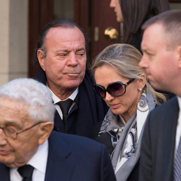 Julio Iglesias Miranda Rijnsburger Photos Funeral Held