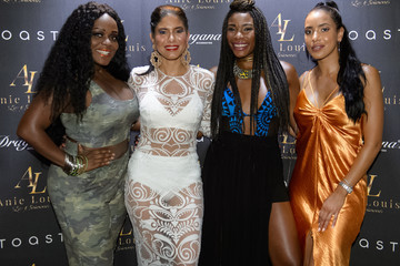 Julissa Bermudez Designer And Founder Anielka Jean Louis Launches Anie Louis Lux Swimwear Collection At The Raleigh Hotel
