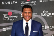 Former NBA Player and Coach Reggie Theus attends the Erving Golf Classic Black Tie Ball sponsored by Delta Airlines & Pond LeHocky Law, with cocktails presented by Tanqueray No. TEN. Produced by PGD Global on September 10, 2017 at The Logan in Philadelphia, Pennsylvania.