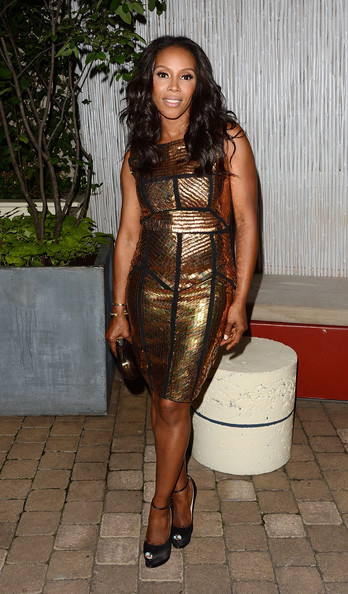 "June Ambrose - The Cinema Society With Circa And Alice & Olivia Host A Screening Of ""Sparkle"" - After Party"