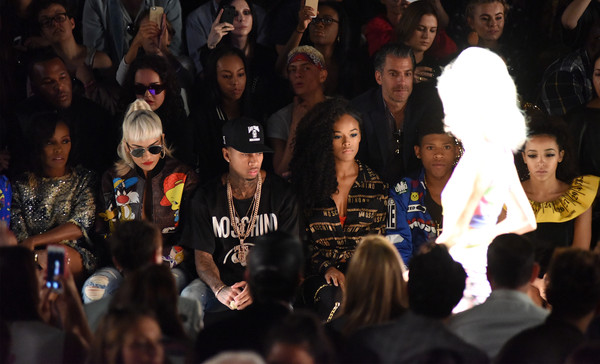 Jeremy Scott - Front Row - Spring 2016 New York Fashion Week: The Shows