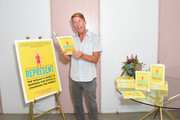 """Jack McBrayer attends June Diane Raphael's new book release """"Represent The Woman's Guide To Running For Office And Changing The World"""" at The Jane Club on September 04, 2019 in Los Angeles, California."""