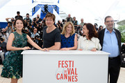(L-R) Jury member actress Zhang Ziyi, Jury President Thomas Vinterberg, Jury members actress Ludivine Sagnier, Director Ilda Santiago and Producer Enrique Gonzalez Macho attend the Jury 'Un Certain Regard' Photocall during the 66th Annual Cannes Film Festival at the Palais des Festivals on May 16, 2013 in Cannes, France.