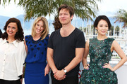 (L-R) Jury members Director Ilda Santiago, actress Ludivine Sagnier, Jury President Thomas Vinterberg and Jury member actress Zhang Ziyi attend the Jury 'Un Certain Regard' Photocall during the 66th Annual Cannes Film Festival at the Palais des Festivals on May 16, 2013 in Cannes, France.