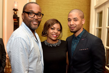 Jussie Smollett Fox All-Star Party - Inside