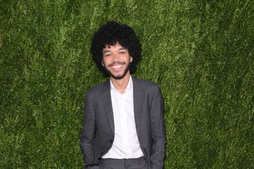Justice Smith CHANEL Fine Jewelry Dinner in Honor of Keira Knightley at the Jewel Box, Bergdorf Goodman - Arrivals