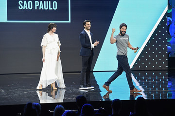 Justin Baldoni WeWork Presents Creator Awards Global Finals at the Theater at Madison Square Garden - Inside