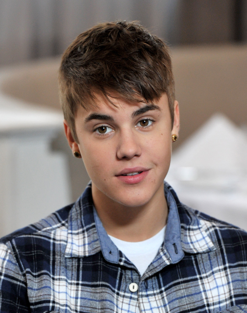 Justin Bieber Photos Photos Justin Bieber Exclusive Interview - Hairstyle justin bieber 2012