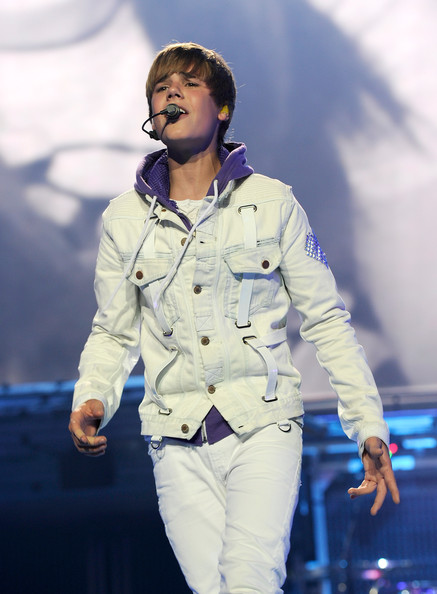 Justin Bieber Justin Bieber performs at Madison Square Garden on August 31, 2010 in New York City.
