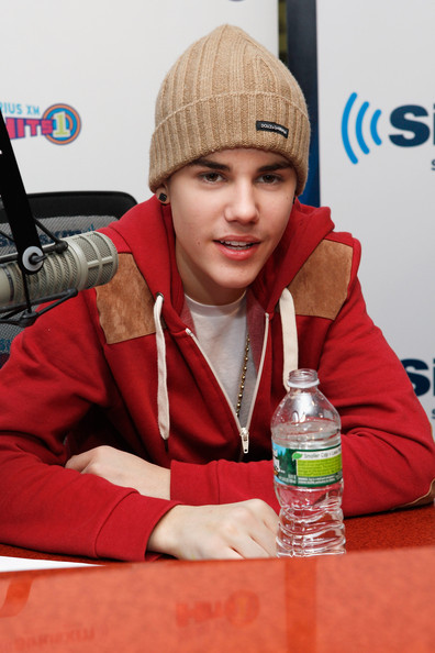 Justin Bieber (EXCLUSIVE COVERAGE) Justin Bieber guest hosts on SiriusXM Hits 1 at the SiriusXM Studio on November 18, 2011 in New York City.