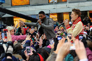 Usher Justin Bieber Photos Photo