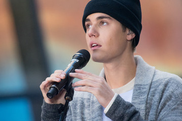 Justin Bieber Justin Bieber Performs on NBC's 'Today'