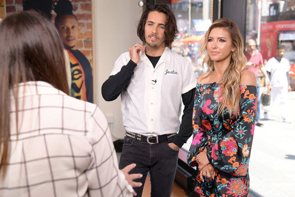 Cast Of 'The Hills' Visits 'Extra'