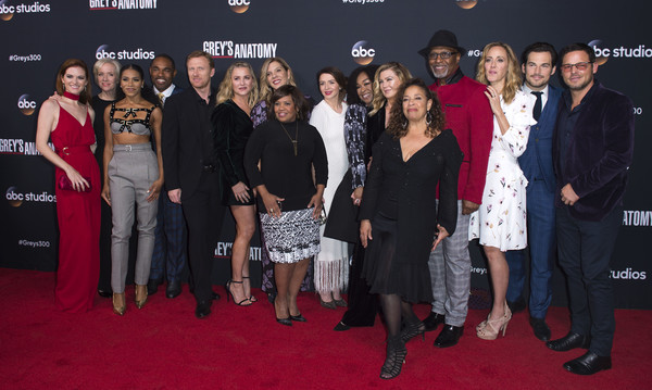 300th Episode Celebration for ABC's 'Grey's Anatomy' - Arrivals