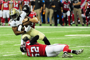 Justin Durant New Orleans Saints v Atlanta Falcons