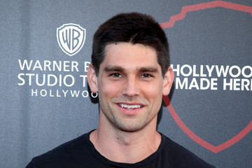 Justin Gaston The Warner Bros. Studio Tour Hollywood Expansion Official Unveiling, Stage 48: Script to Screen
