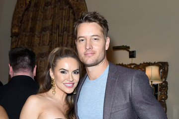 Justin Hartley Chrishell Stause Entertainment Weekly Celebrates Screen Actors Guild Award Nominees At Chateau Marmont Sponsored By L'Oréal Paris, Cadillac, And PopSockets - Inside