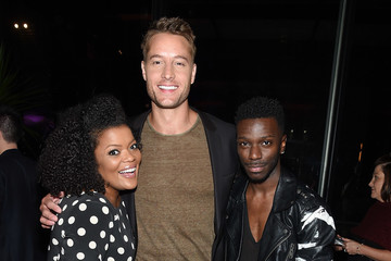 Justin Hartley Entertainment Weekly And PEOPLE Upfronts Party At Second Floor In NYC Presented By Netflix And Terra Chips - Inside