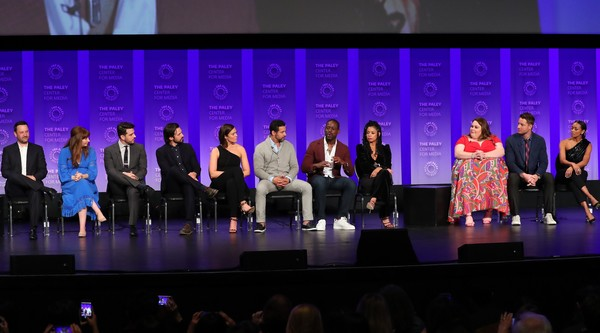 The Paley Center For Media's 2019 PaleyFest LA - 'This Is Us' [this is us,performance,event,convention,performing arts,musical theatre,heater,stage,auditorium,academic conference,theatre,dan fogelman,kristin dos santos,elizabeth berger,susan kelechi watson,jon huertas,chrissy metz,la,paleyfest,paley center for media]