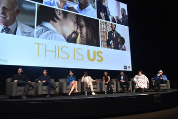 Justin Hartley Susan Kelechi Watson An Evening With 'This Is Us' - Panel