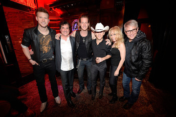 Justin Moore Scott Borchetta Country Music Stars Celebrate Extraordinary Night At The Big Machine Label Group Crown Royal ACA Awards After Party