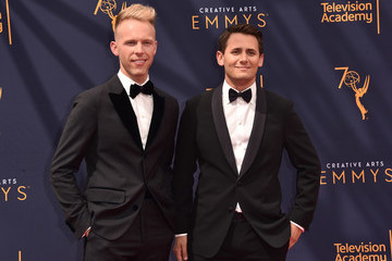 Justin Paul 2018 Creative Arts Emmy Awards - Day 2 - Arrivals