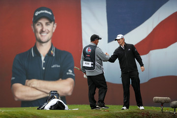 Justin Rose Mark Fulcher Sky Sports British Masters - Day Four