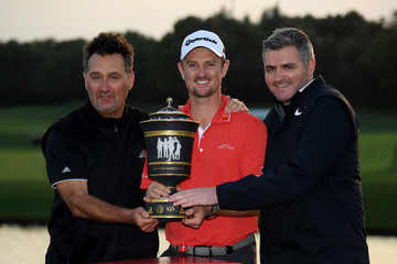 Justin Rose Mark Fulcher WGC - HSBC Champions: Day Four