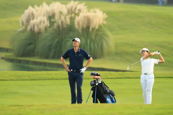 WGC - HSBC Champions - Previews [previews,play,golfer,golf,sport venue,golf equipment,golf club,professional golfer,golf course,match play,foursome golf,recreation,mindy,justin rose,england,shanghai,china,sheshan international golf club,wgc - hsbc champions,practice rounds]
