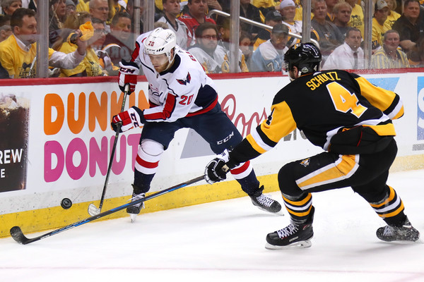 Lars Eller, Justin Schultz - Justin Schultz Photos - Washington Capitals Vs.  Pittsburgh Penguins - Game Six - Zimbio