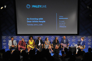 Justin Simien The Paley Center For Media Presents: An Evening With 'Dear White People' - Inside