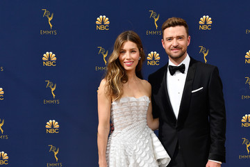 Justin Timberlake 70th Emmy Awards - Arrivals