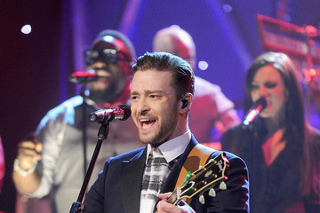 Justin Timberlake US Entertainment Best Pictures Of The Day - February 21, 2014