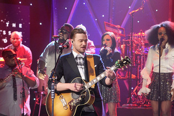 "Justin Timberlake Justin Timberlake Visit ""The Tonight Show Starring Jimmy Fallon"""