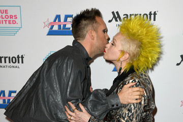 Justin Tranter Cyndi Lauper And Friends: Home For The Holidays Benefit