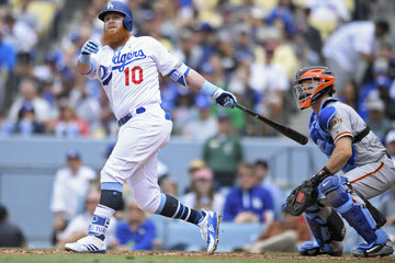 Justin Turner San Franciso Giants vs. Los Angeles Dodgers
