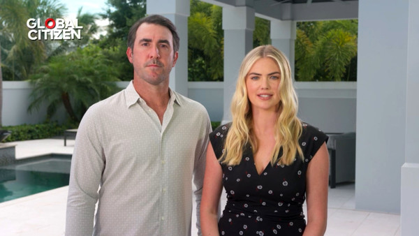 Global Goal: Unite For Our Future - Summit & Concert [unite for our future - summit concert,global goal: unite for our future - summit concert,goal,screengrab,unspecified,united states,kate upton,justin verlander]