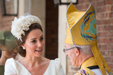 Justin Welby Christening Of Prince Louis Of Cambridge At St James's Palace