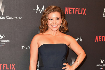 Justina Machado 2017 Weinstein Company and Netflix Golden Globes After Party - Arrivals