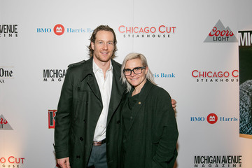Justine Fedak Michigan Avenue Magazine's November Cover Celebration with Duncan Keith Presented by BMO Harris Bank at Chicago Cut Steakhouse