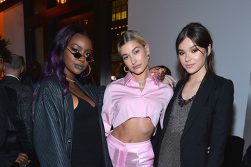 Justine Skye Hailey Bieber Republic Records Celebrates the GRAMMY Awards in Partnership With Cadillac, Ciroc and Barclays Center at Cadillac House - Inside