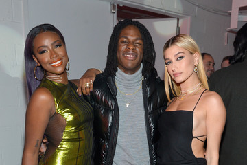 Justine Skye Hailey Bieber Spotify's Best New Artist Party featuring Lil Uzi Vert, SZA, Khalid, Alessia Cara and Julia Michaels held at Skylight Clarkson