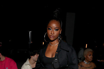 Justine Skye Palm Angels - Front Row - February 2020 - New York Fashion Week: The Shows