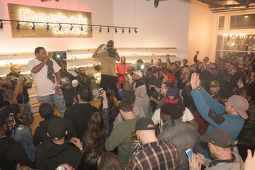 Juvenile Juvenile And Mannie Fresh Launch The New Reebok Workout Low Sneaker Politics x Humidity Skate Shop