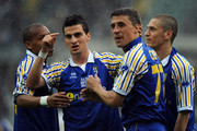 Hernan Crespo and Davide Lanzafame Photos Photo